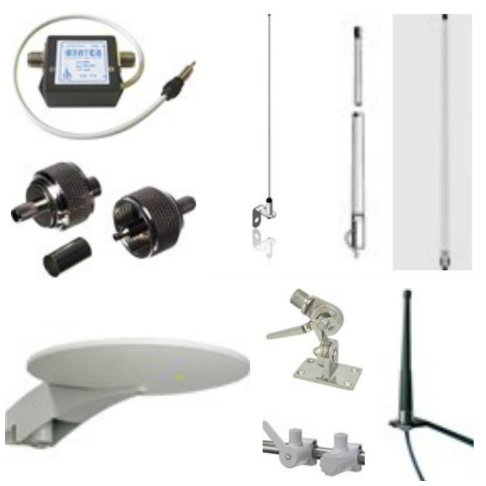 Antenner og antennebeslag
