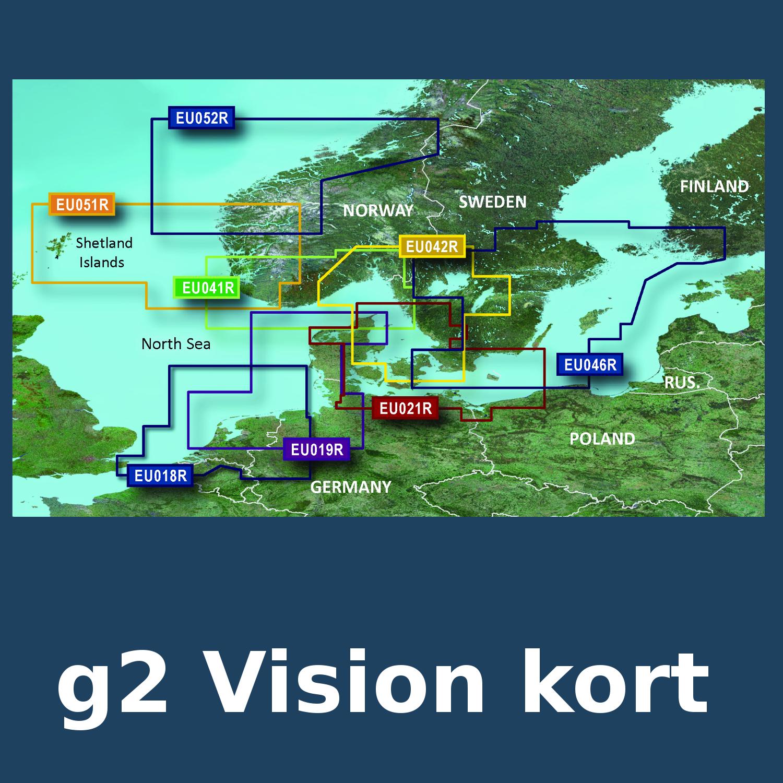 Garmin g2 Vision kort