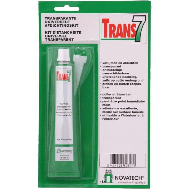 Tec7 transparent tube 50 ml.